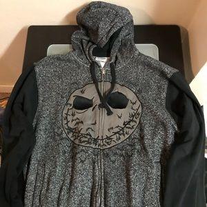 Jack Skellington zip up hoodie
